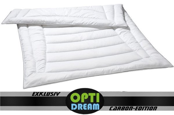OPTIDREAM Bettdecke mit Carbon Faser ab 135x200 cm