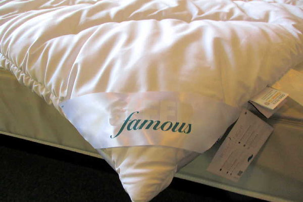 Famous Sleep Faserdecke Supra duo warm Winterdecke